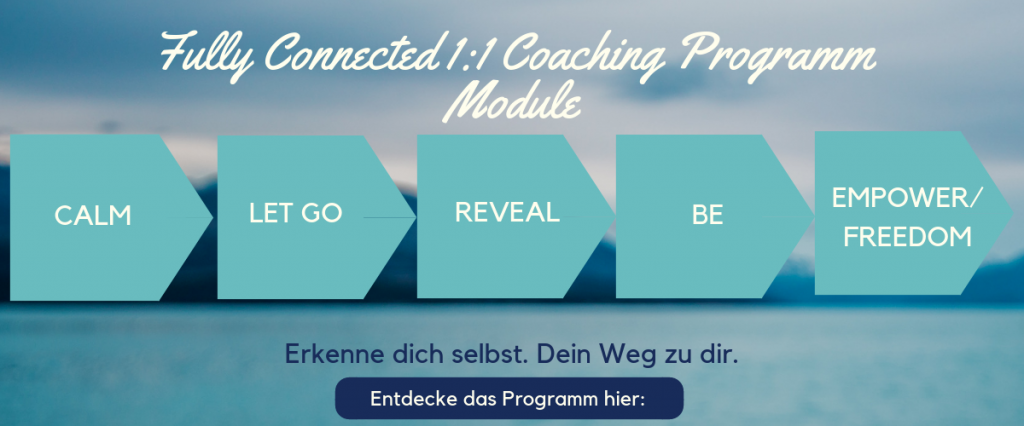Lifecoaching München, Coaching München, Personalcoaching München, Mindfulness Training München, Soulcoaching München. Fully Connected das Programm, erkenne dich selbst.